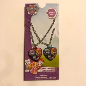 PAW PATROL BEST FRIEND NECKLACES SET OF 2